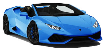 Car Hire MADRID  Lamborghini Huracan Spider