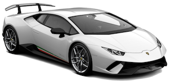 Car Hire CANNES  Lamborghini Huracan