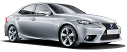 hyra bilar DUBAI  Lexus IS 300 H