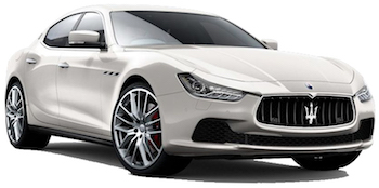 Car Hire CANNES  Maserati Ghibli
