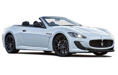 Car Hire MADRID  Maserati Gran Cabrio