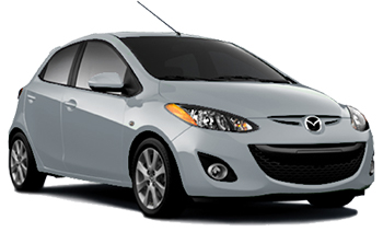 Car Hire ROSH HAAIN  Mazda 2