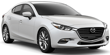 Car Hire CHARLEROI  Mazda 3