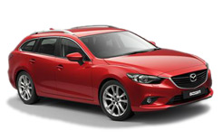 Car Hire LINZ  Mazda 6 wagon