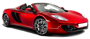 Car Hire MADRID  McLaren MP4 Spyder