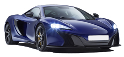 Car Hire ZURICH  Mclaren 650 spider