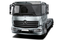 Car Hire TORNIO  Mercedes Atego Flatbed