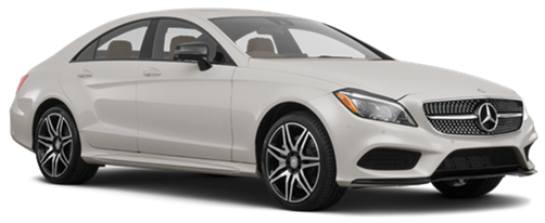 hyra bilar PARIS  Mercedes CLS Class coupe