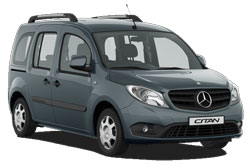 Car Hire AKTION  MercedesCitan