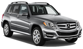Car Hire ZURICH  Mercedes GLK