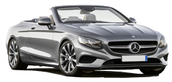Car Hire NICE  Mercedes S Class convertible