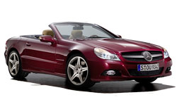 Car Hire NICE  Mercedes SL Class convertible