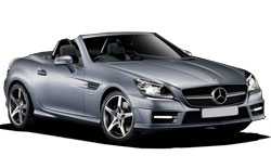Car Hire NICE  Mercedes SLK Class convertible