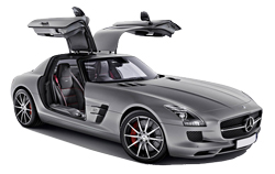 Car Hire NICE  Mercedes SLS