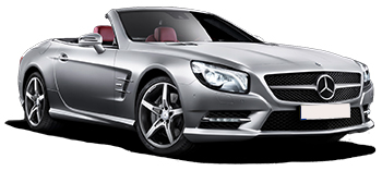 Car Hire CANNES  Mercedes SL