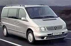Car Hire ZURICH  Mercedes V200