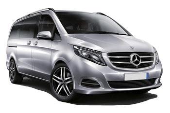 Mercedes V Class 7 pax 4x4