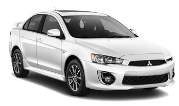 Car Hire QUEENSTOWN  Mitsubishi Lancer