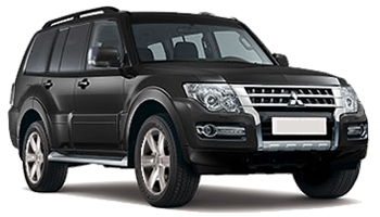 Car Hire SLOUGH  Mitsubishi Shogun