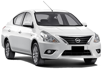 Car Hire ANTIGUA  Nissan Almera