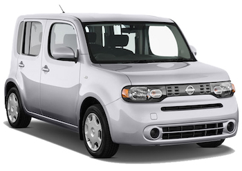 Car Hire HAMURA  Nissan Cube