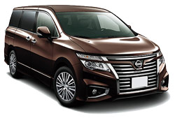 Car Hire KORIYAMA  Nissan Elgrand