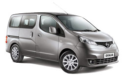 Car Hire AKTION  Nissan Evalia