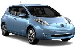 Nissan Leaf Electric Car w/GPS