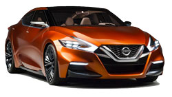 Car Hire LOS GATOS  Nissan Maxima