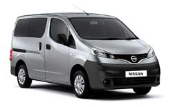 Car Hire PAPHOS  Nissan NV200