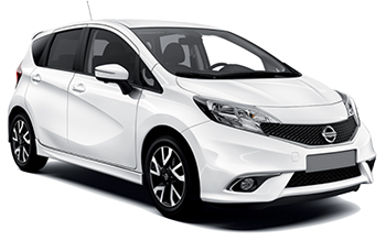 Car Hire PORI  Nissan Note