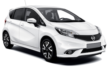 Car Hire PAPHOS  Nissan Note