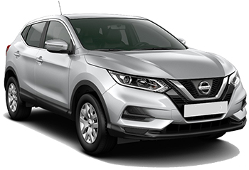 Car Hire AKTION  Nissan Qashqai