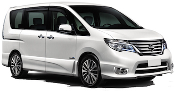 Car Hire KOBE  Nissan Serena