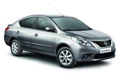 Car Hire ABU DHABI  Nissan Sunny