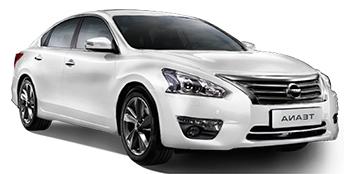 Alquiler ST. PETERSBURG  Nissan Teana