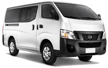 hyra bilar SAN LUIS TALPA  Nissan Urvan