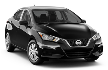Car Hire SAO BERNARDO DO CAMP  Nissan Versa