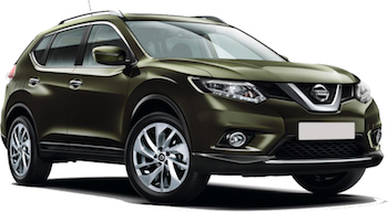 Car Hire ANTIGUA  Nissan X-Trail
