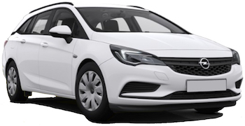 Car Hire CHARLEROI  Opel Astra wagon