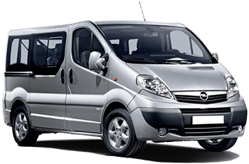 Car Hire AKTION  Opel Vivaro