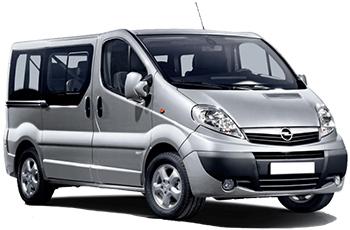 Opel Vivaro 9 pax Diesel