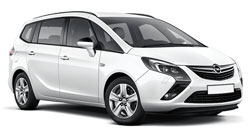 Car Hire LUTON  Opel Zafira