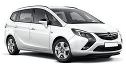 Vauxhall Zafira 5 pax