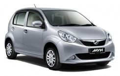 arenda avto KUALA LUMPUR  Perodua MYVI
