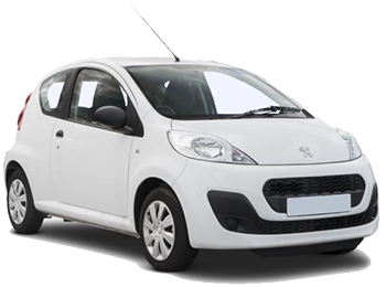 Car Hire LYON  Peugeot 107