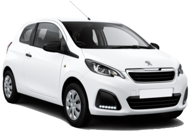 Car Hire AKTION  Peugeot108