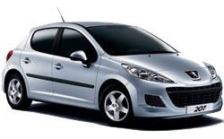 hyra bilar SAINT DENIS  Peugeot 206