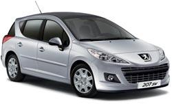 arenda avto HAMRUN  Peugeot 207 Wagon