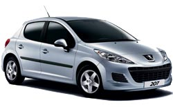 Location de voitures KITTILA  Peugeot 207